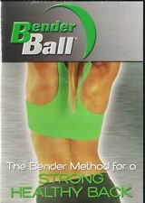 Bender Ball The Bender Method for a Strong Healthy Back 2007 DVD New Sealed
