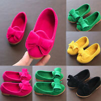 Baby Girls Bow Sandals Sneaker Toddler Pricness Party Beach Casual Single Shoes