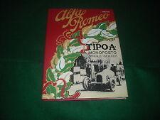 """ALFA ROMEO BOOKS LIBRO""""TIPO:A MONOPOSTO""""CON AUTOGRAFO LUIGI FUSI -NUOVO"""