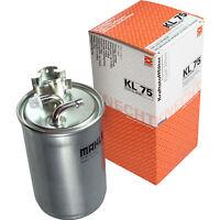 Original MAHLE / KNECHT Kraftstofffilter KL 75 Fuel Filter