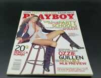 Playboy May 2006 Rebecca Romijn Alison Waite Rachel Sterling Ozzie Guillen