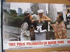 732  TRES POLIS PELIGROSOS EN NUEVA YORK - EDWIGE FENECH - ALVARO VITALI