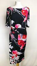Coast Womens Katsura Print Jersey Dress, Size 16, RRP £89, New With Tags.  I2