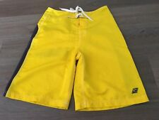 Mens size 30 Bright Yellow RIP CURL Board Shorts - *Great Con*