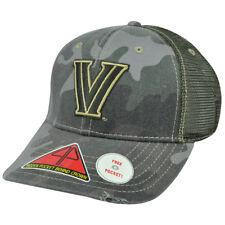 3189e7a8191 NCAA Villanova Nova Wildcats Deliverance Pro Pocket Camo Flex Fit Hat Cap  M l