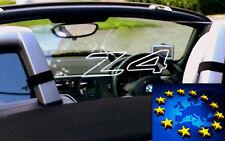 Z4 02-08 E85  Windscreen Wind Deflector BMW  Windblocker windschtt engraved