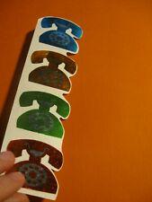 vintage 80's Mrs Grossman's Victorian angels sticker strip *damaged*
