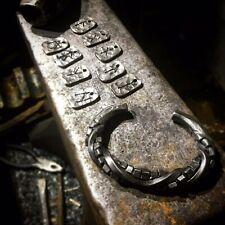 Hand Forged twisted Titanium Viking Style Arm Ring Bracelet
