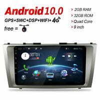 9'' Android 10 GPS Navi Head Unit Stereos for Toyota Camry 07-11 Car Dash AUDIO