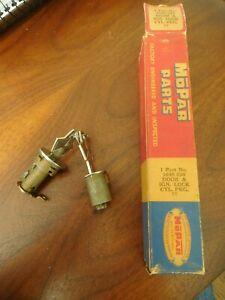 Chrysler Ignition Lock Cylinder 1955 56 57 58 59 Dodge DeSoto Plymouth Glove Box
