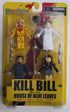 Minimates 4 Pack.Kill Bill Vol. I & Ii House Of Blue Leaves. Bride, Gogo, Others