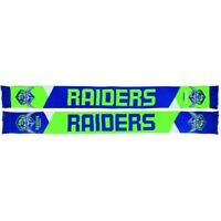 NRL Double Sided Jacquard Supporter Scarf - Canberra Raiders