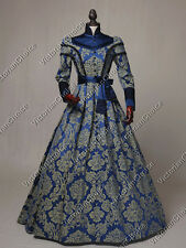 Victorian Regal Medieval Queen Dress Game of Thrones Halloween Costume C021