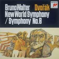 BRUNO WALTER-DVORAK: SYMPHONIES NO. 8 & NO. 9 'FROM THE NEW WORLD' -JAPAN CD B63