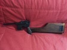 Denix C96 Broomhandle nonfiring pistol with real wood stock