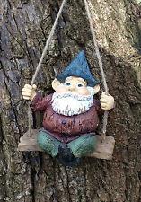 Garden Gnome Terrace Patio Outdoor Showpiece Statue Ornament Hanging Gnome