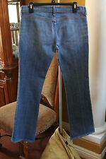 CITIZENS OF HUMANITY WOMENS JEANS GABRIELLE  H YOKE SIGNATURE SIZE 29 LIGHT WASH