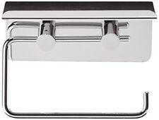 Wenko 21809100 Dérouleur Papier WC avec Support de Smartphone Dimensions 15 5