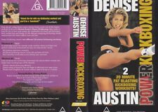 DENISE AUSTIN ~ POWER KICKBOXING VHS VIDEO PAL~ A RARE FIND~