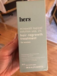 Hers 2% Minoxidil Treatment for Hair Regrowth 2oz.