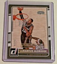 2015-16 Donruss Gold Press Proof LaMarcus Aldridge /10 Spurs Texas Trailblazers