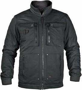 Mens Dunderdon Vantage Black Workwear Light Padded Jacket