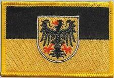 Aufnäher Aachen Fahne Flagge Aufbügler Patch 8 x 5 cm