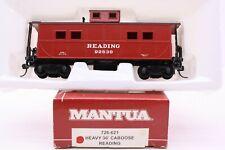 Mantua HO Scale Reading Steel Cupola Caboose RDG 92830