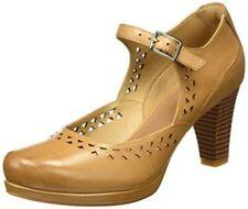 Clarks Ladies Shoes CHORUS CHIME Light Tan UK 6 / EU 39.5