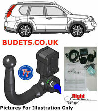 Nissan X Trail August 2014 - Detachable Swan Neck/13 Pin Electric Kit
