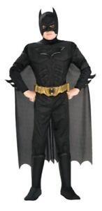 Batman Dark Knight Rises Child's Deluxe Muscle Chest Batman Costume Small