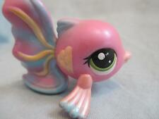 LITTLEST PET SHOP #1814 Shimmer Pink Tropical Guppy Fish LPS 100% Authentic