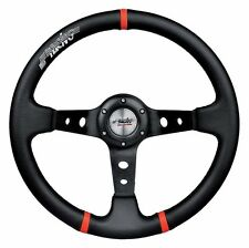 Volante Auto Sportivo 3 Razze EcoPelle Simoni Racing x Fiat 500 126 Epoca
