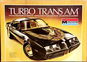 Monogram 1980 Pontiac Firebird Turbo Trans Am, 1/8 Scale