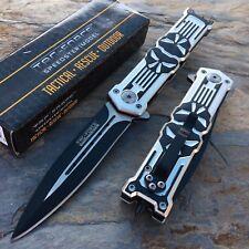 TAC-FORCE PUNISHER Skull Dagger Tactical Pocket Hunting Collection Knife