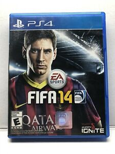 FIFA 14 (Sony PlayStation 4, 2013) Complete - Tested Working - Free Shipping