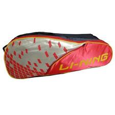 LINING 9 IN 1 THERMAL ABDJ222 BADMINTON KIT BAG RED AND YELLOW