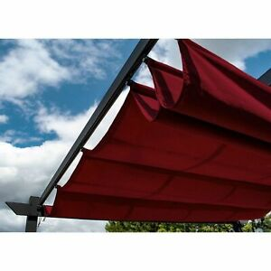 ALEKO Fabric Replacement for Pergola Canopy 13 x 10 Ft - Burgundy Color