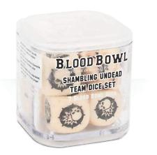 Blood Bowl Shambling Undead Team Dice Set - Games Workshop - OOP Brand New