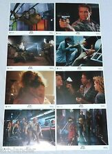 Schwarzenegger TOTAL RECALL Sharon Stone Original Lobby Card Set of 8 1990 8x10