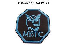 Pokemon Go Team Mystic Valor Instinct Iron On Sew On Fine Quality Patch US
