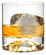 Old Fashioned Whiskey Scotch Bourbon Drinking Rocks Glasses, 8 oz - Set of 4
