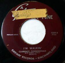 JACK DANIELS Why Baby Why/CLARENCE CUNNINGHAM I'm Walkin' 45 GATEWAY pop d1727