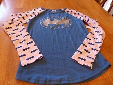 "NWT! DC COMICS ""BATMAN"" GIRL'S L/S T-SHIRT SIZE XL (14-16)"