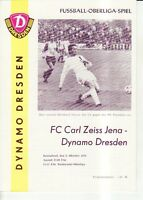 OL 76/77 SG Dynamo Dresden - FC Carl Zeiss Jena
