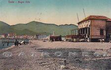 SAVONA VADO LIGURE 18 SPIAGGIA STABILIMENTO BALNEARE Cartolina viaggiata 1917