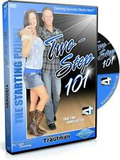 New! COUNTRY TWO STEP 101 Dance Video Trautman Texas 2 Beginner Dancing DVD NIB
