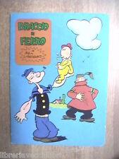 Vecchio quaderno scolastico usato Da collezione Braccio di Ferro Bud Sagendorf 4