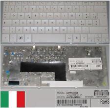 Clavier Qwerty Italien HP MINI 110 V100226EK1 537753-061, 537953-061 Blanc