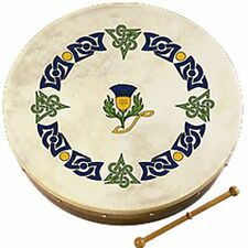 "Waltons 12"" Scottish Scots Thistle Tuned Bodhran 10AWAL-2368"